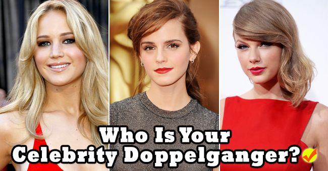 Who Is Your Celebrity Doppelganger? I got J.Law/ Liz Lemon the 2nd time