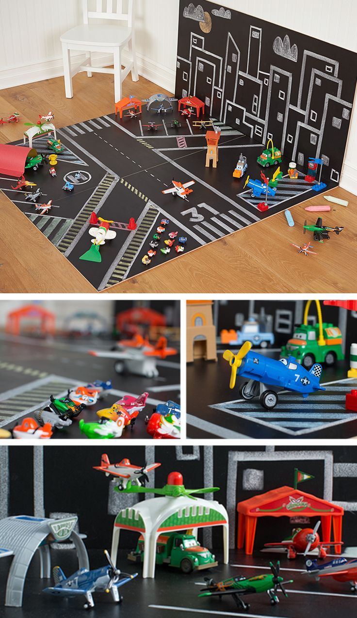 Bring Disney Planes to life in your own home with Planes characters and chalkboards.