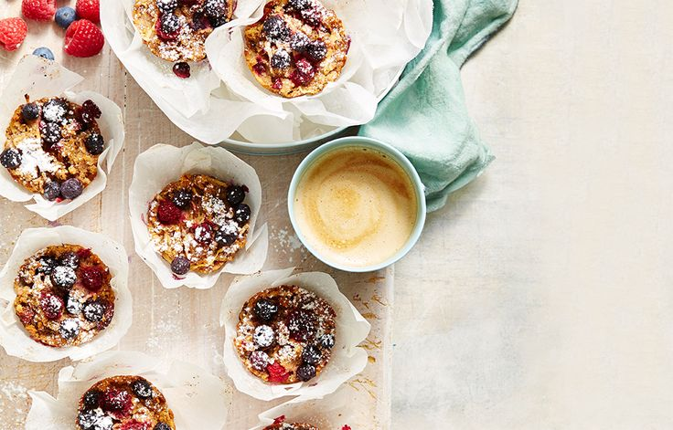 Gluten-free apple, berry and sultana muffins