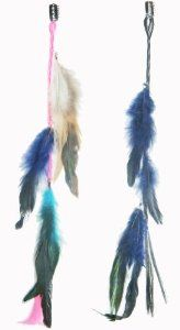 2 X Real Natural Feather Hair Extensions Grizzly Hair Extension Clip in on Beauty Salon Supply Wholesale Lot New by opt. $5.99. User Friendly: Make your own hair style.. Package Includes: 2 pieces dyed Natural Feathers hair extensions.. 2 X Real Natural Dyed Grizzly Feather Hair Extensions Clip In On Beauty Salon Supply Wholesale Lot New. Material: Real Natural Feather. Length: about 14 (35cm). Real Natural Feather Hair Extensions Clip In On . Make your own hair...