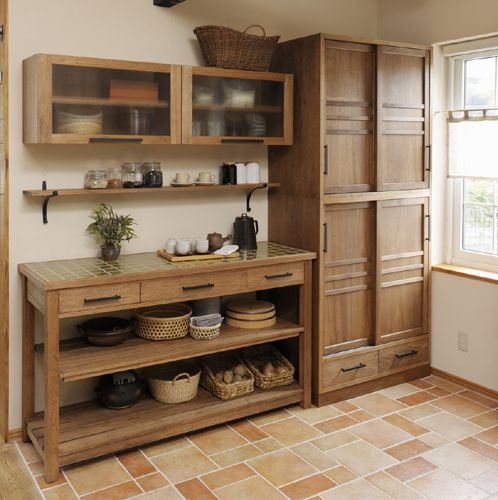 Japanese modern style kitchen