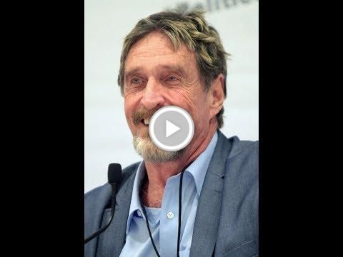 #John McAfee - A #Bitcoin Soon Will Be Worth $500,000 USD, and the Majority Can't Even Afford 1 BTC