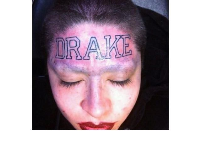 39 Tragically Bad Face Tattoos...I Can't Look Away. (Slide #1) - offbeat