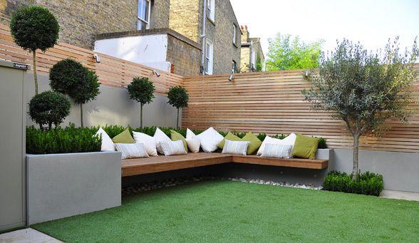 For sunny corner of garden