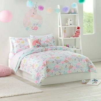 Unicorn bedding kid room ideas pinterest room bed and bedroom for Unicorn bedroom theme