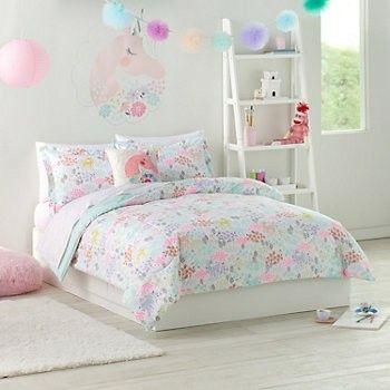 Unicorn Bedding Girls Twin Comforter Set Girl