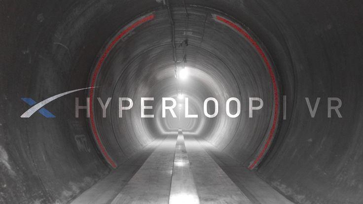 """""""Un video a 360° realizzato da SpaceX mostra un viaggio, in scala, sul treno superveloce di Elon Musk: Hyperloop in realtà virtuale"""""""