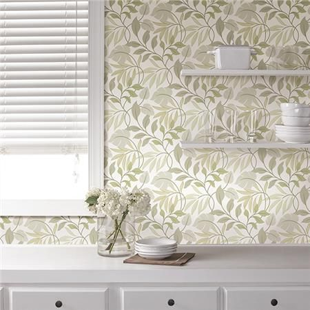 Neutral Meadow Peel And Stick Wallpaper