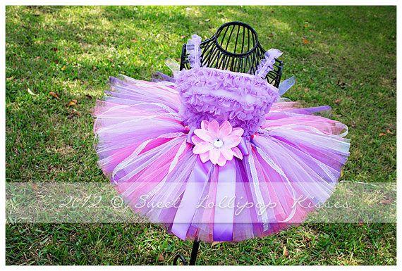 "NEW: ""Enchanted"" Tutu Skirt - Customize tutu size, Great for Girls Birthdays 1st Birthdays Photos Dress up"
