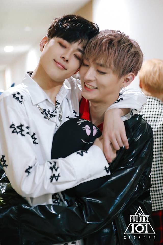 Seonho and Jisung