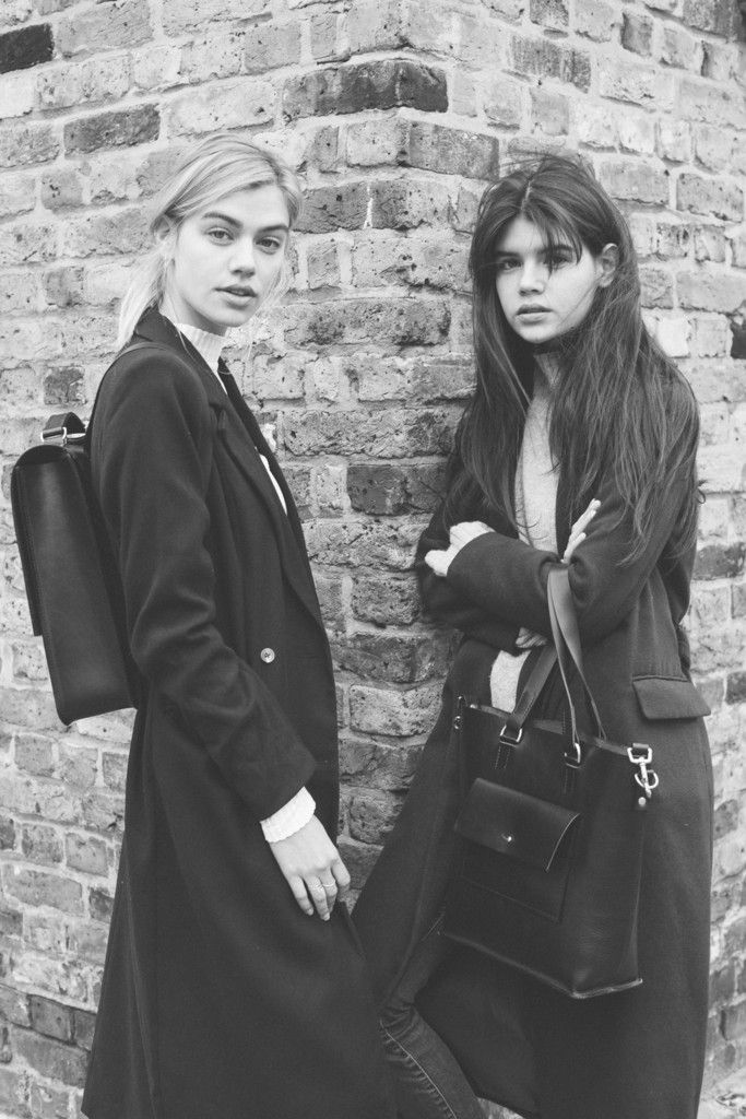 Backpack - Emma Leather Backpack, Joanna Halpin & Sarah Halpin Whatshesaid blog