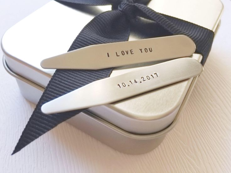 NEW* SMALL SIZE 2.15 inch (2 1/8 in.) - Hidden Message Collar Stays - Stainless Steel - (1 pair) by TheHummingbirdNest on Etsy https://www.etsy.com/listing/555870135/new-small-size-215-inch-2-18-in-hidden #stampedjewelry #collarstays #personalized #customized