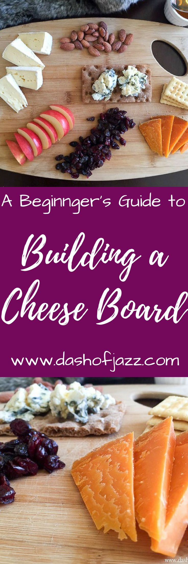 A few lessons from the French on how to create an easy cheese board whether you're making a snack or throwing a party, start with a beginner's cheese board by Dash of Jazz via @dashofjazzblog