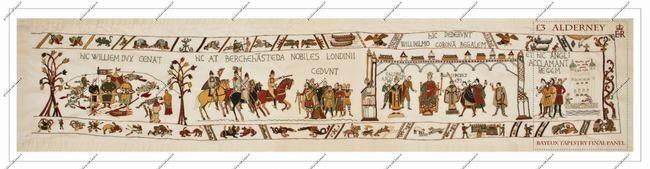 Alderney: 'mogelijk' einde van het oudste stripverhaal ter wereld, het 'Wandtapijt van Bajeux'. | Philandria