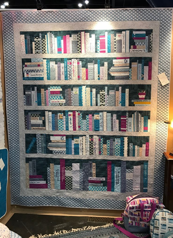 151 Best Images About BOOKCASE QUILTS On Pinterest Memory Quilts Quilt And Old Book Art