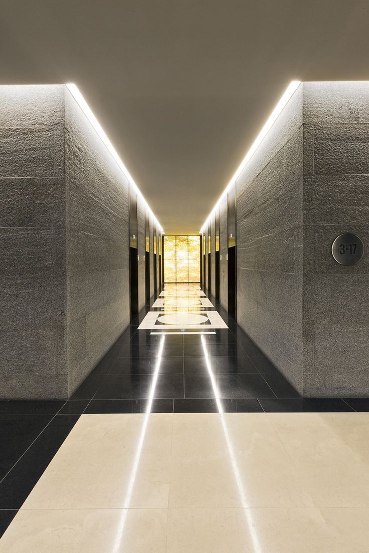 SJB | Projects - Collins Place Lobby with style and warmth