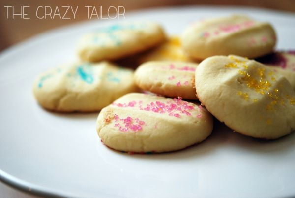 Melt-in-Your-Mouth shortbread | the crazy tailor