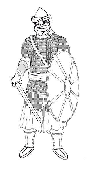 Soldier of the Rashidun Caliphate