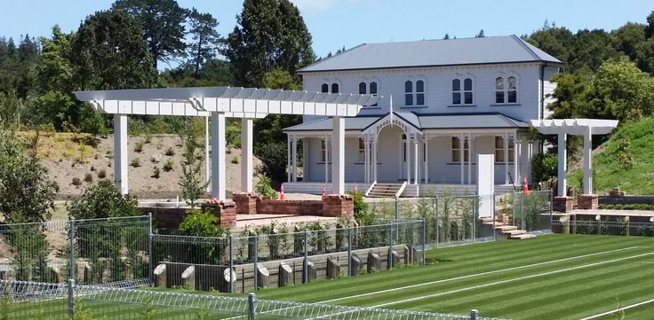 Mansfield Garden Pergolas - Hamilton Gardens