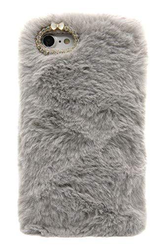 coque iphone 8 fourrure
