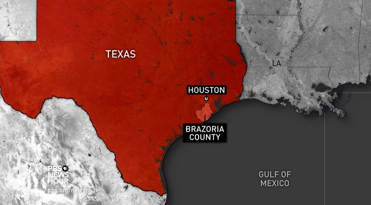 Authorities in the suburban Texas community of Brazoria County were ordered to evacuate on Sunday for fear of what came true today: a levee breached by floodwaters. Miles O'Brien talks to Brazoria County's Judge Matt Sebesta about the threat his community faces.