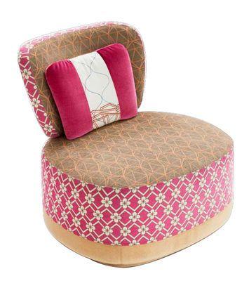 Fauteuil rembourré Sushi - Juju Rose - Moroso - Décoration et mobilier design avec Made in Design