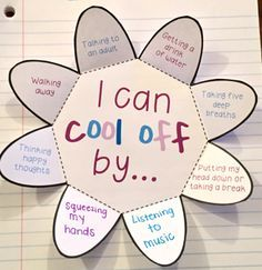 Anger management foldables to help students learn to identify anger, anger triggers and coping skills!