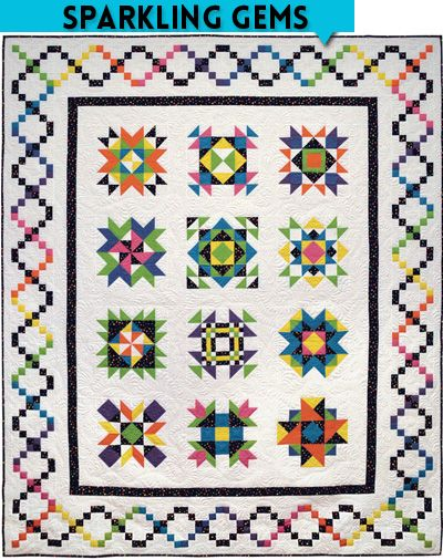 42 best images about 2014 Free Block of the Month Quilts on Pinterest