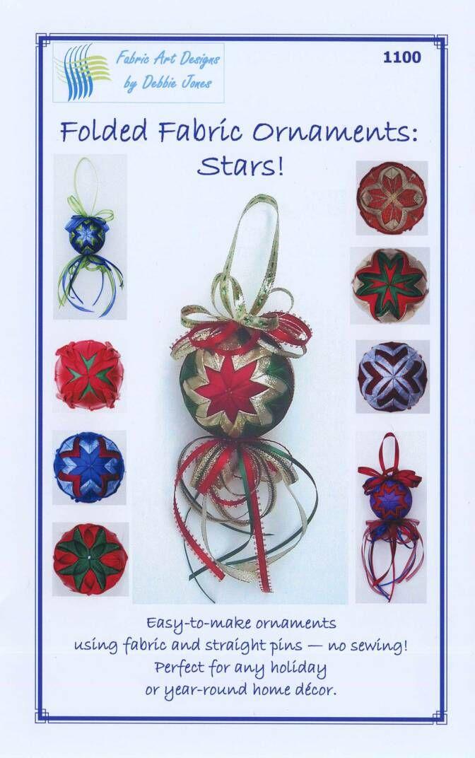 138 best Folded Star Ornaments images on Pinterest | Christmas balls ...