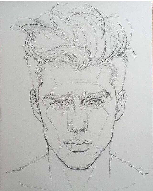 Рисовать человека картинки