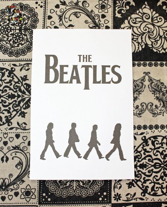 A5 Filofax Printable Beatles Bookmark by  CreazioniArtEC #italiasmartteam #etsy