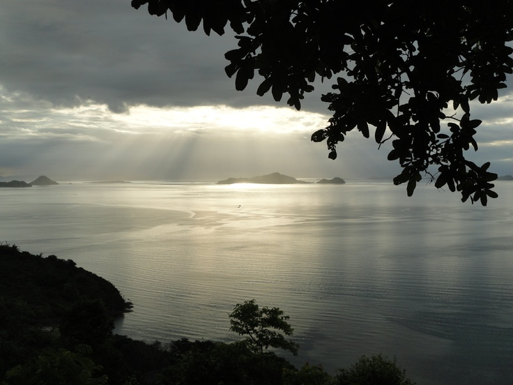 Sunset in Flores island