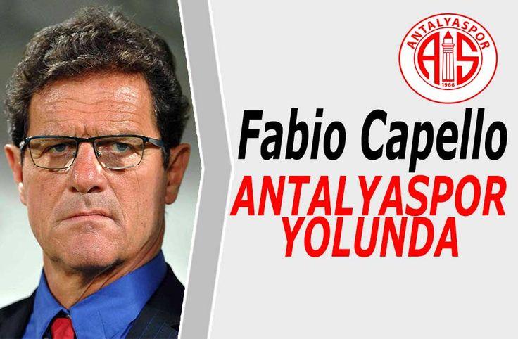 Fabio Capello Antalyaspor yolunda - Antalyaspor görevden aldığı Rıza Çalımbay'ın yerine düşündüğü İtalyan teknik adamFabio Capello ile prensip anlaşmasına vardı.  71 yaşındaki teknik adam ile yapılan ilk görüşmeden olumlu yanıt alan Antalyaspor yönetiminin kısa süre içerisindeFabio Capello transferini açıklaması - http://bit.ly/2hdXys2