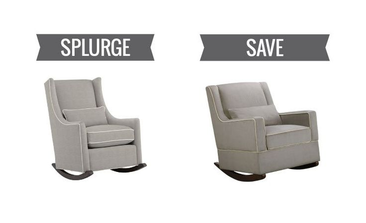 These contemporary rockers are perfect for the modern nursery and there's one for whatever your budget.