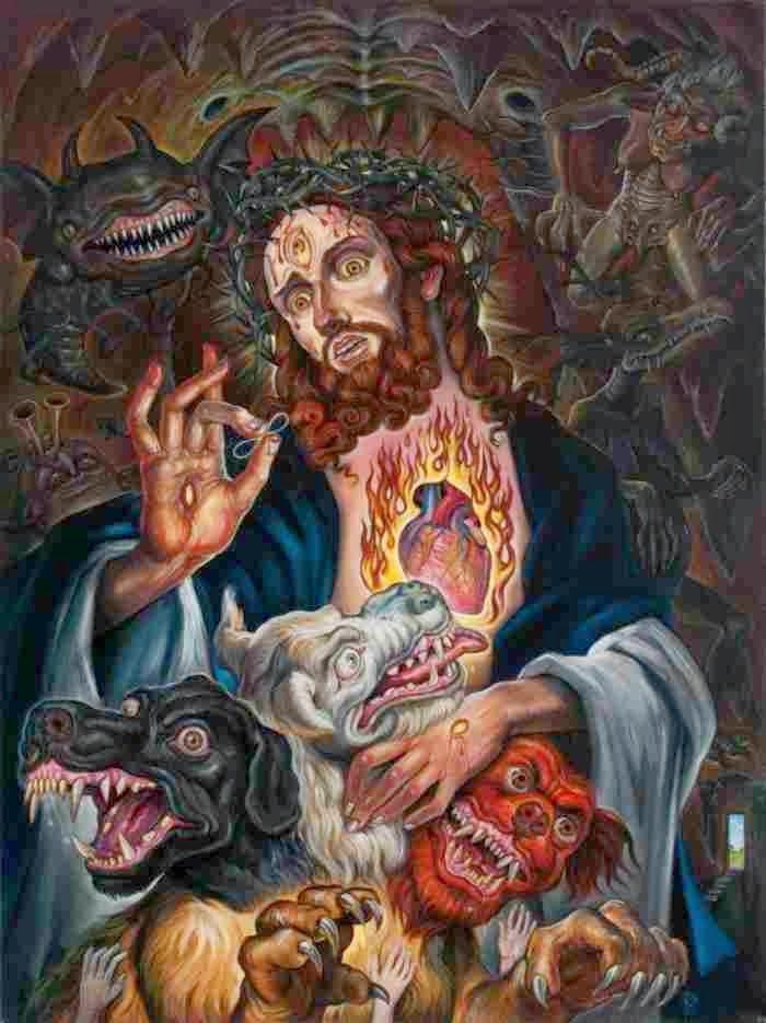 Сюрреалистические картины. Christopher Ulrich