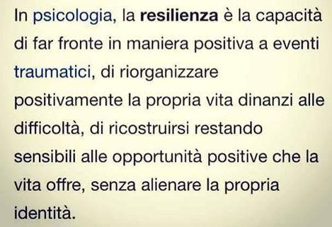 #pensieri resilienza