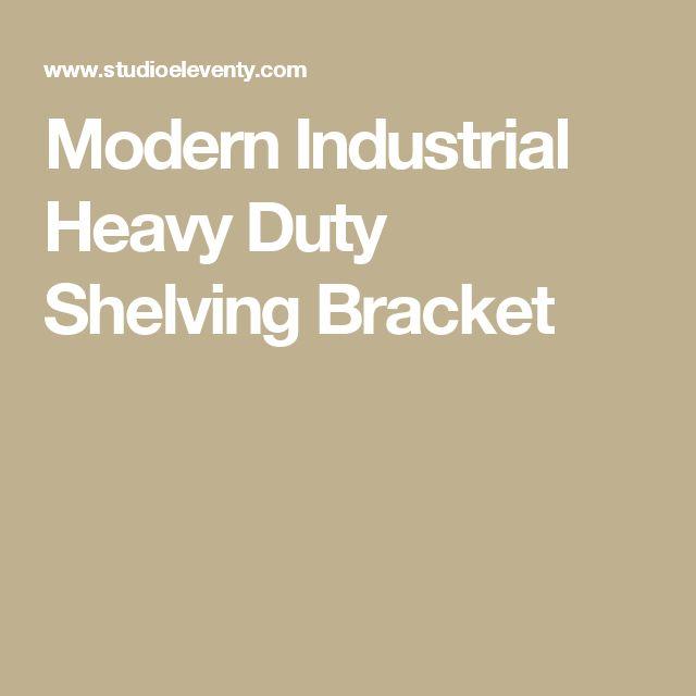 Modern Industrial Heavy Duty Shelving Bracket