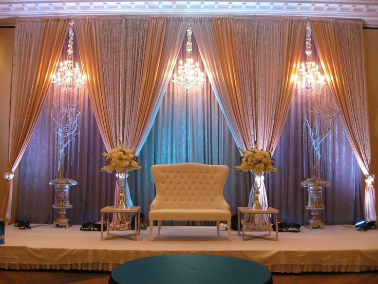 Love The Chandeliers And Draping Victorian Glam Wedding