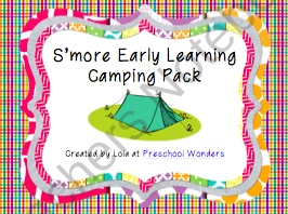 Tons of camping activities to use with your little learners!  Many printables are offered in color and black and white.  Includes two crafts/art projects, lots of learning activities; including many math and alphabet activities.