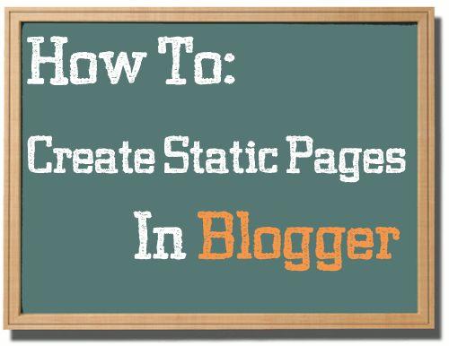 Cara Membuat Halaman Statis / Static Page di Blog at http://farespo.blogspot.com/2014/01/cara-membuat-halaman-statis-static-page.html/