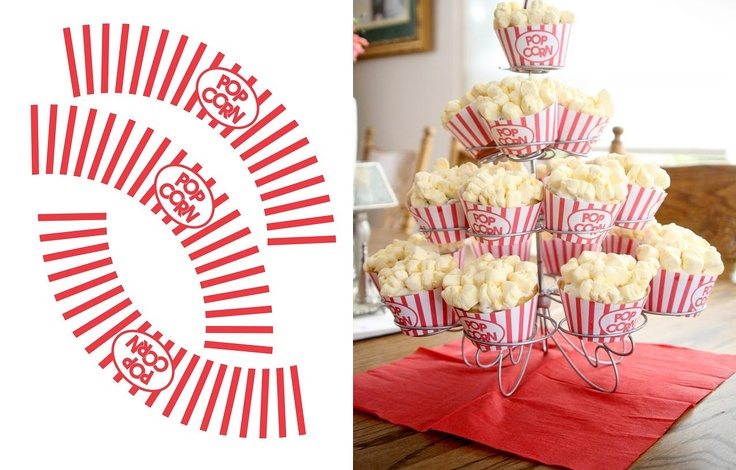 Downloadable Template For Cupcake Wrappers To Make