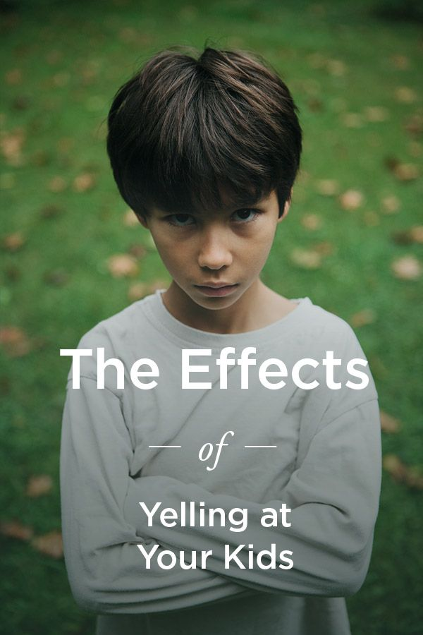 If yelling at children is not a good thing, yelling that comes with verbal putdowns and insults can be qualified as emotional abuse. It's been shown to have long-term effects, like anxiety, low self-esteem, and increased aggression. It also makes children more susceptible to bullying since their understanding of healthy boundaries and self-respect are skewed.