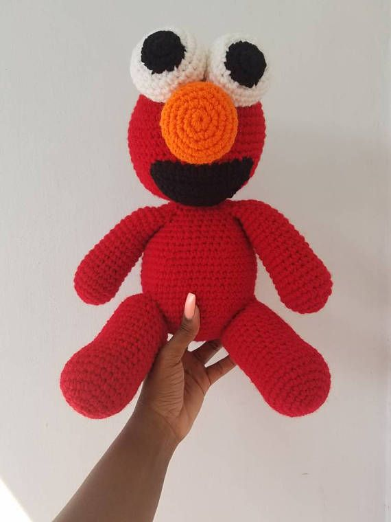 Check out this item in my Etsy shop https://www.etsy.com/listing/513896084/crochet-elmo-toy-amigurumi-elmo-toy