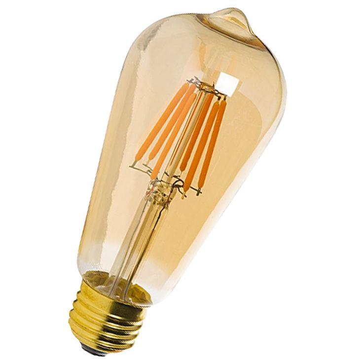 Bombilla led vintage ideal para tu ahorro electrico y para decorar tus estancias, así como tus lámparas.