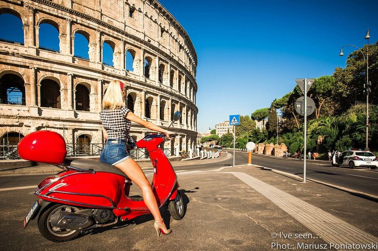 The Colosseum great arena of antique Rome was build almost 2000 years ago and could hold about 80,000 spectators like Maracana in Rio de Janeiro build 2000 years later! Rome, Italy. Travel to Italy with @iveseen_