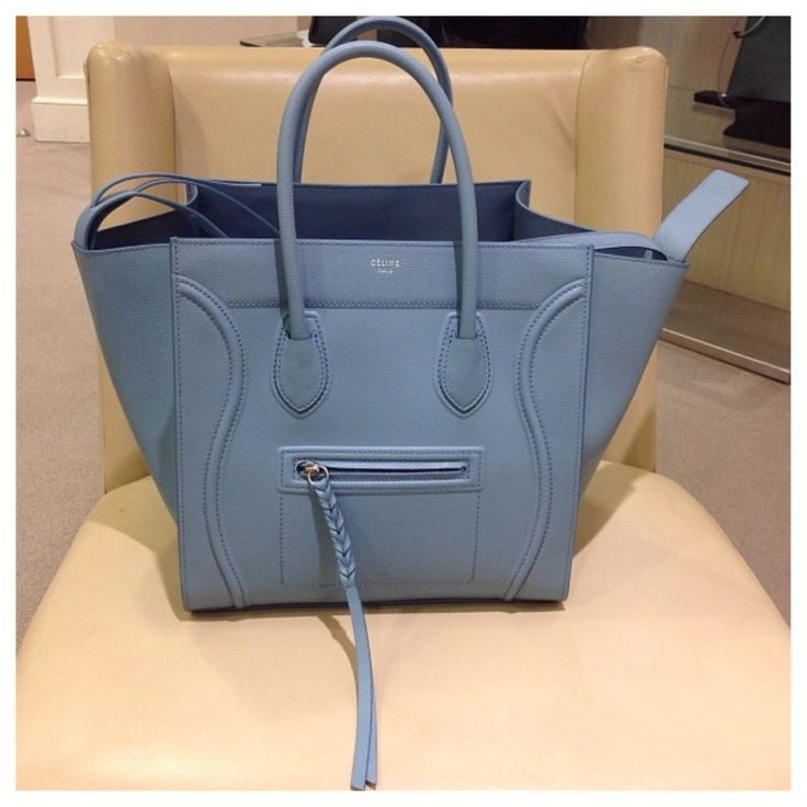Celine Phantom in antique blue - Glad to have you in my closet ...
