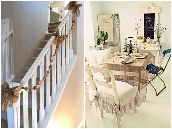 Beautiful burlap wedding ideas interior ideas for Decorating ideas using burlap