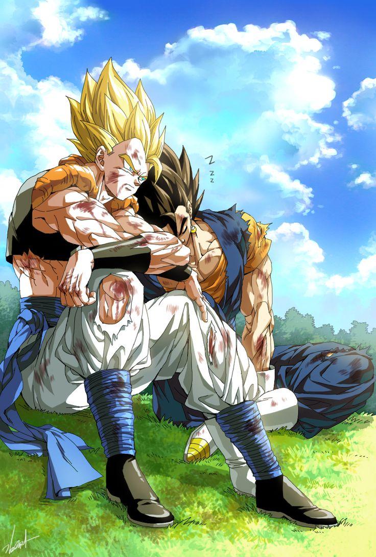 Goku vegeta sex fanart