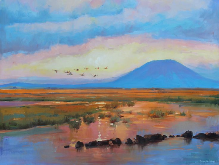 Nephin Dawn by conor mcguire on artclick.ie