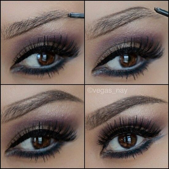 Tutorial How To Make Your Eyebrows Thicker With Makeup ...